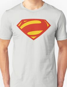 Man Of Steel Bizarro Red Logo Unisex T-Shirt