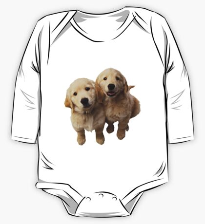 Puppies! Sale!!! One Piece - Long Sleeve