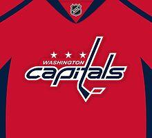 Washington Capitals Home Jersey by Russ Jericho