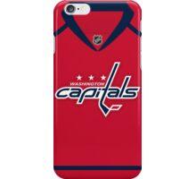 Washington Capitals Home Jersey iPhone Case/Skin