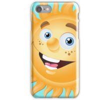 Funny sun iPhone Case/Skin