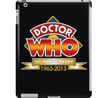 doctor who 50 th 2 iPad Case/Skin