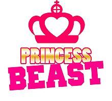 Princess Beast Workout Gym Exercise Photographic Print