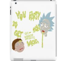 Rick's genius advice iPad Case/Skin