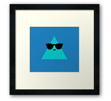Cool Triangle Framed Print