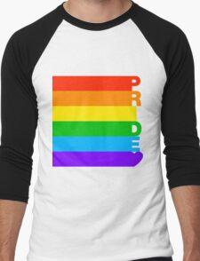 Gay Pride Men's Baseball ¾ T-Shirt