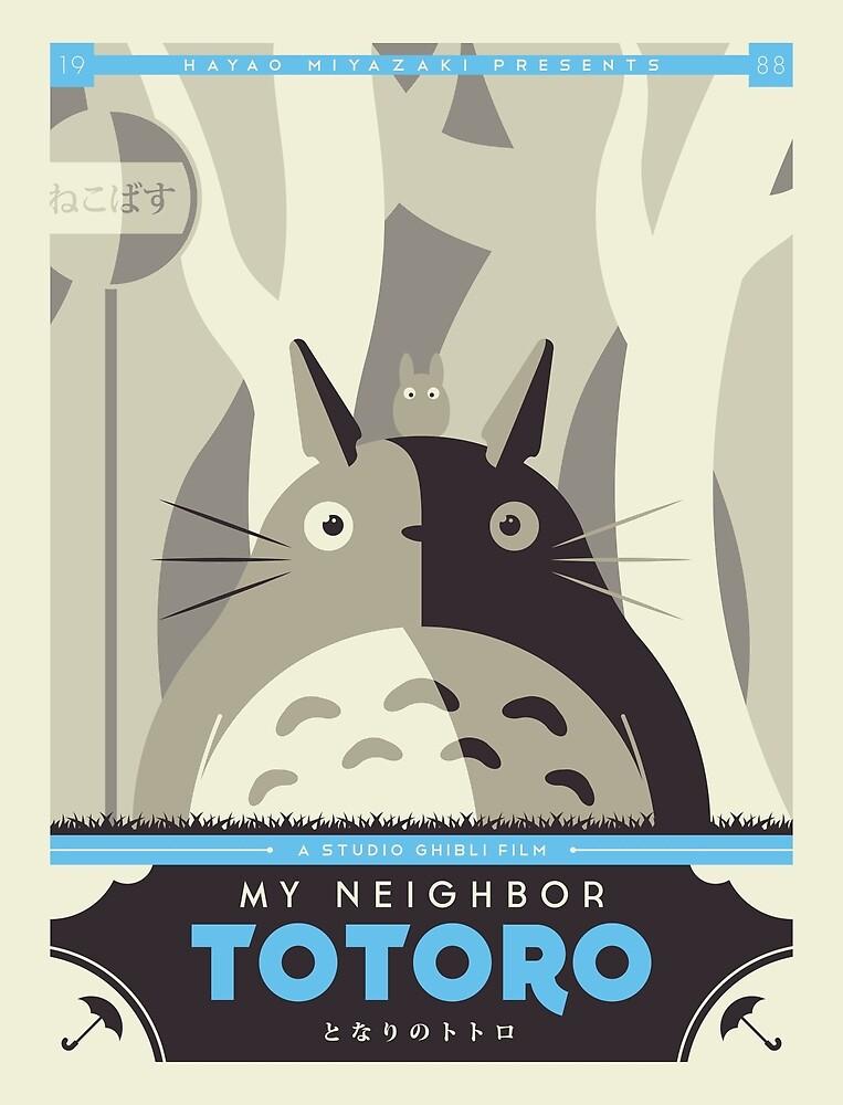 My Neighbor Totoro by UniqSchweick12