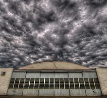 Hanger at Boundary Bay Airport by toby snelgrove  IPA
