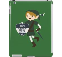 Not Zelda iPad Case/Skin