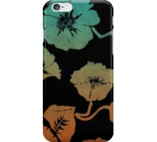 Ink Flowers iPhone Case/Skin