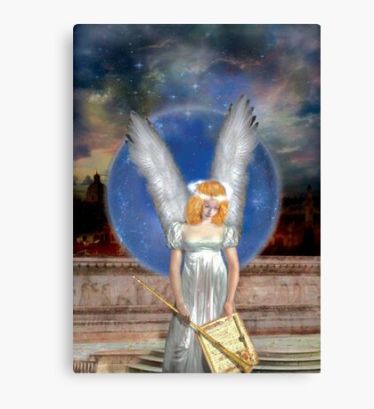 The Angel Of Jubiliation Rests Canvas Print