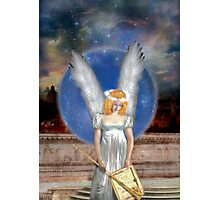 The Angel Of Jubiliation Rests Photographic Print