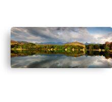 Drakensberg panorama Canvas Print