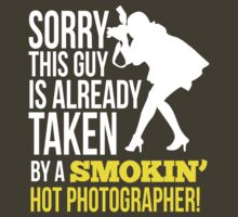 Sorry, this guy is already taken by a smokin' hot Photographer by humerusbone