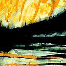 rhine sunset in yellow.... by banrai