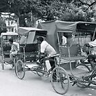 rickshaw drivers in delhi by magickstarr