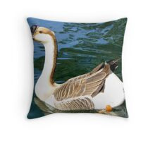 Chinese Goose ~ Male Throw Pillow