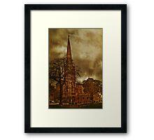 United Reformed  Church Framed Print
