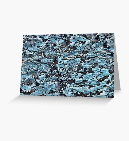 Limestone Texture Greeting Card