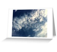 Clouds #11 Greeting Card