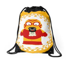 Wrestling Baby Drawstring Bag