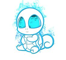 Pokemon squirtle - white by poketees