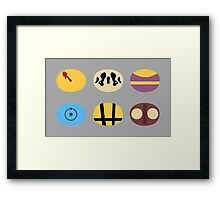Less is Moore Framed Print