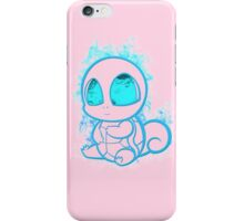 Pokemon squirtle - red iPhone Case/Skin