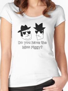 The Blues Brothers - Miss Piggy Women's Fitted Scoop T-Shirt