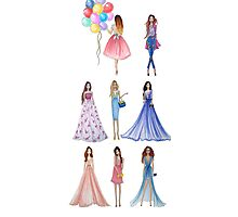 Fashion Girls Photographic Print