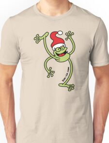 Merry Christmas Frog Unisex T-Shirt