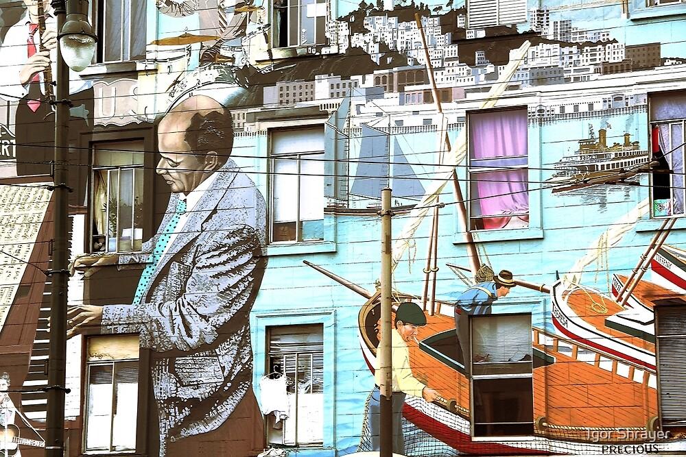 Street Art in San Francisco by Igor Shrayer