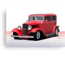 1932 Ford 'Full Fender' Sedan Metal Print