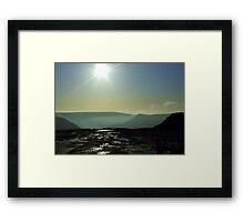A Place Called Heaven - Saddleworth Moors Framed Print
