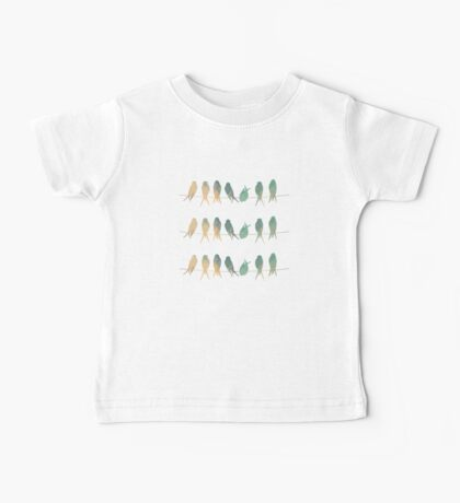 Birds on a Wire Baby Tee