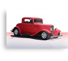 1932 Ford 'Full Fender' Coupe Metal Print
