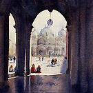 St Marks Plaza, Venice by Joe Cartwright