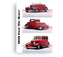 1932 Ford 'Triple Deuce' Metal Print