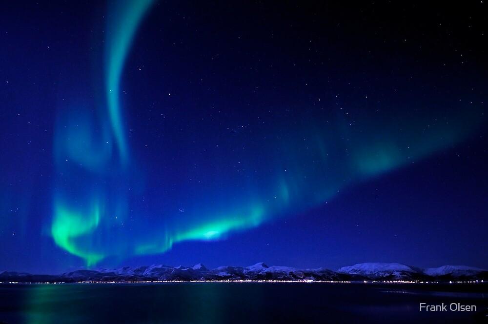 North Light / Aurora Borealis at Vesterålen islands by Frank Olsen