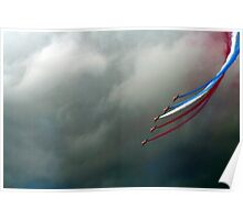 Red Arrows 2008 Poster