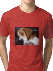 Beagle dog Tri-blend T-Shirt