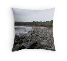 Convent Beach - Yamba - NSW Throw Pillow