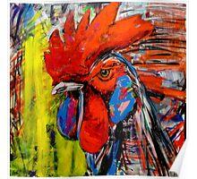 'Piščanec the Rooster.' Poster