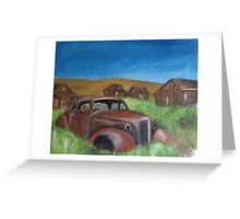 A Rusty Grave Greeting Card