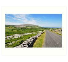 The Burren National Park, County Clare, Ireland Art Print