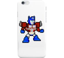 8bit Optimus Prime Transformers no text iPhone Case/Skin
