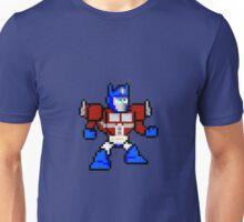 8bit Optimus Prime Transformers no text Unisex T-Shirt