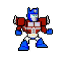 8bit Optimus Prime Transformers no text by miffed