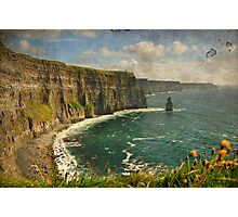 Famous Cliffs OF Moher, County Clare, Ireland Photographic Print