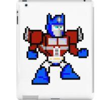 8bit Optimus Prime Transformers no text iPad Case/Skin